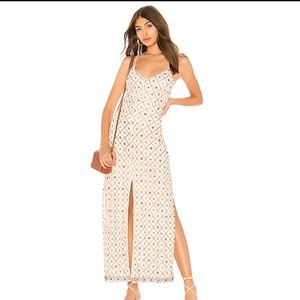 🔥Tularosa x Revolve Linda Embroidered Dress Cream